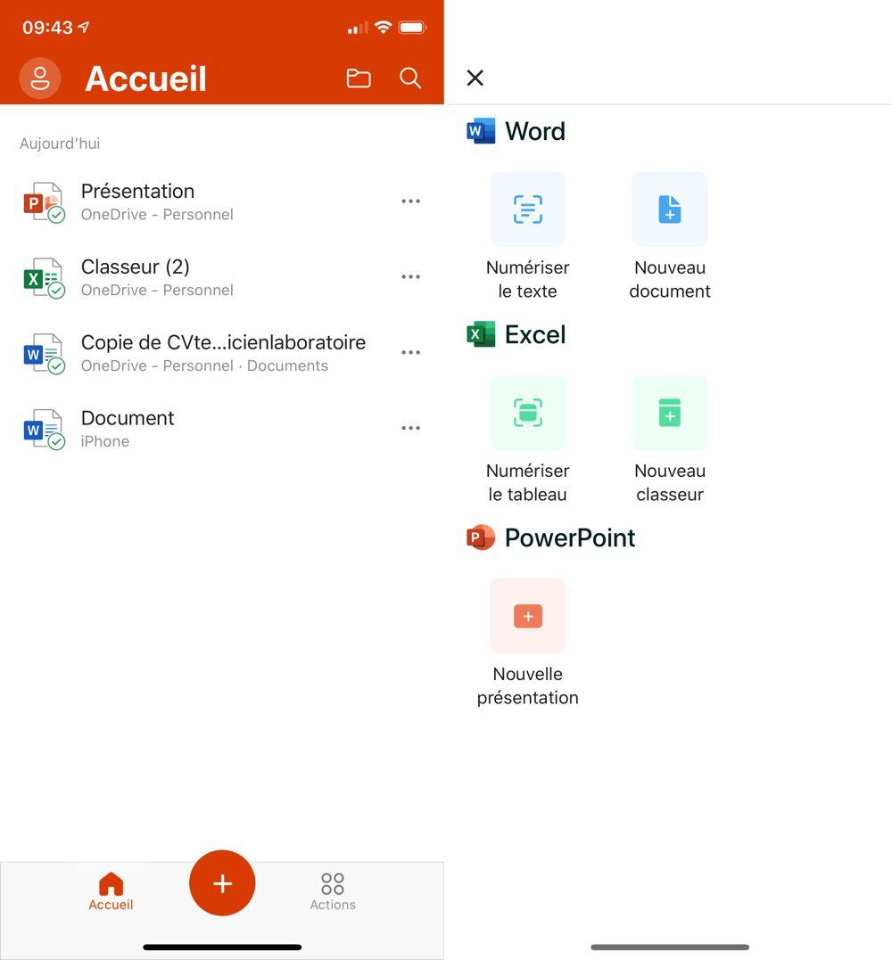 Word, Excel et PowerPoint sont désormais rassemblés dans une seule application
