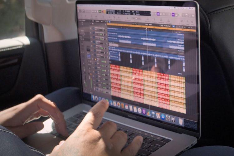 """MacBookPro 16"""" : un premier clip pour les pros"""