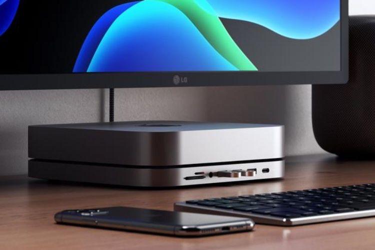 Un dock USB pour Macmini chez Satechi