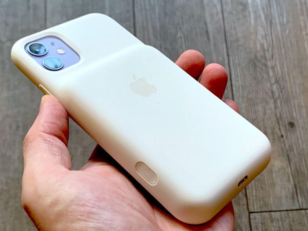 Prise en main de la Smart Battery Case Apple pour iPhone 11 et 11 ...