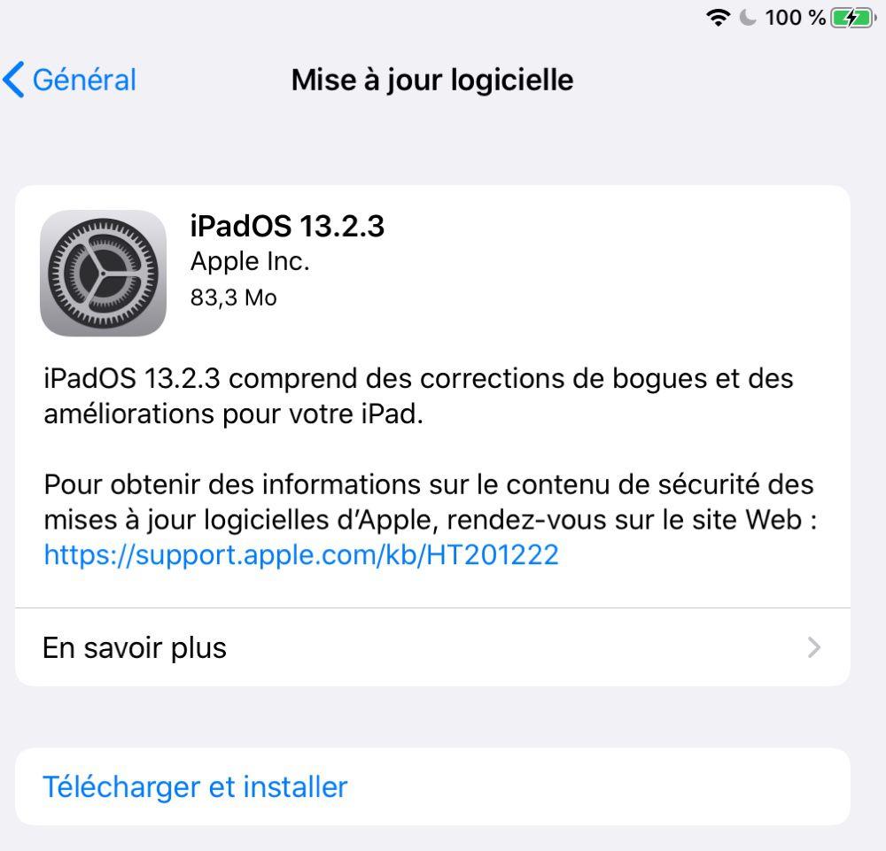 IOS 13 : une nouvelle mise à jour pour corriger des bugs