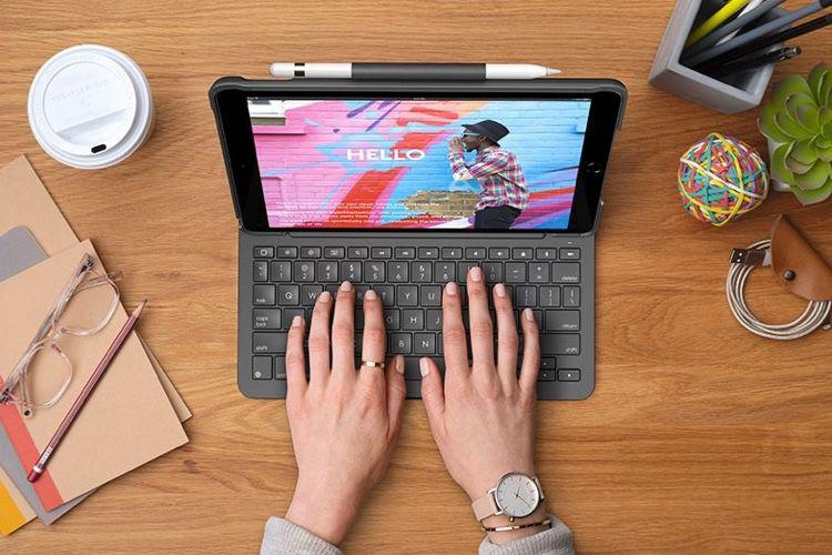 Logitech : un étui-clavier Slim Folio pour iPad7 et iPadAir3