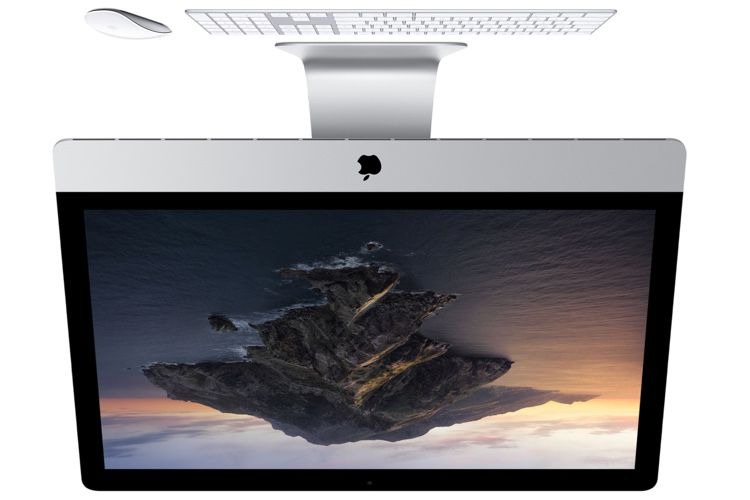 Des iMac la tête à l'envers pour l'usine de MacPro à Austin