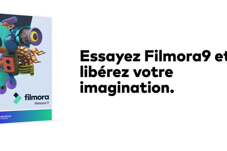 Montez, éditez et publiez vos vidéos en toute simplicité avec Filmora9!  📣