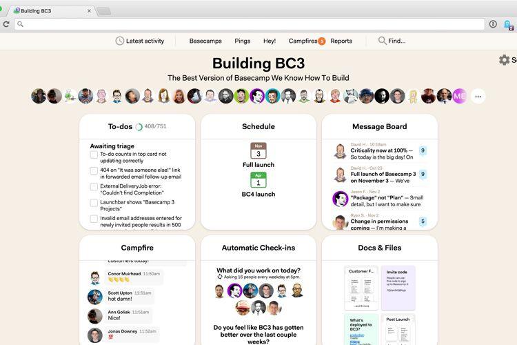 Le gestionnaire de projets collaboratif Basecamp propose une offre gratuite