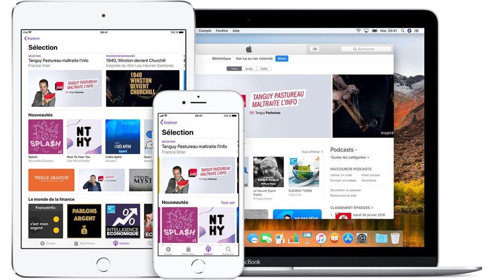Apple préparerait une offensive sur le front des podcasts