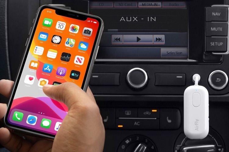 AppleStore : un transmetteur audio Bluetooth, un support de charge double position, des poignées pour iPhone et un étui aimanté pour Pencil