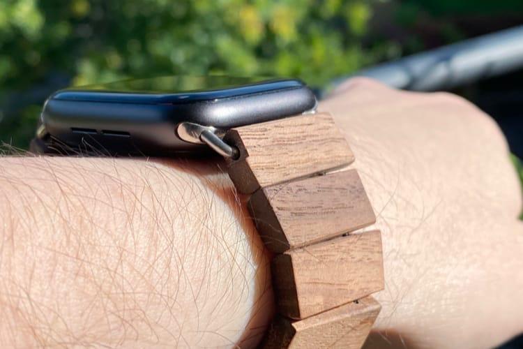 Prise en main du WeWood TRIFT, un bracelet en bois pour AppleWatch