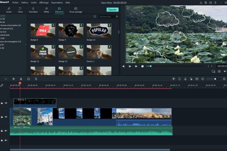 Créez, éditez, publiez votre vidéo YouTube ou TikTok en quelques clics avec Filmora9!  📣
