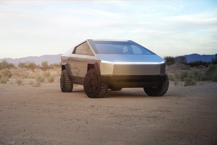 Tesla présente le Cybertruck, son pick-up très futuriste