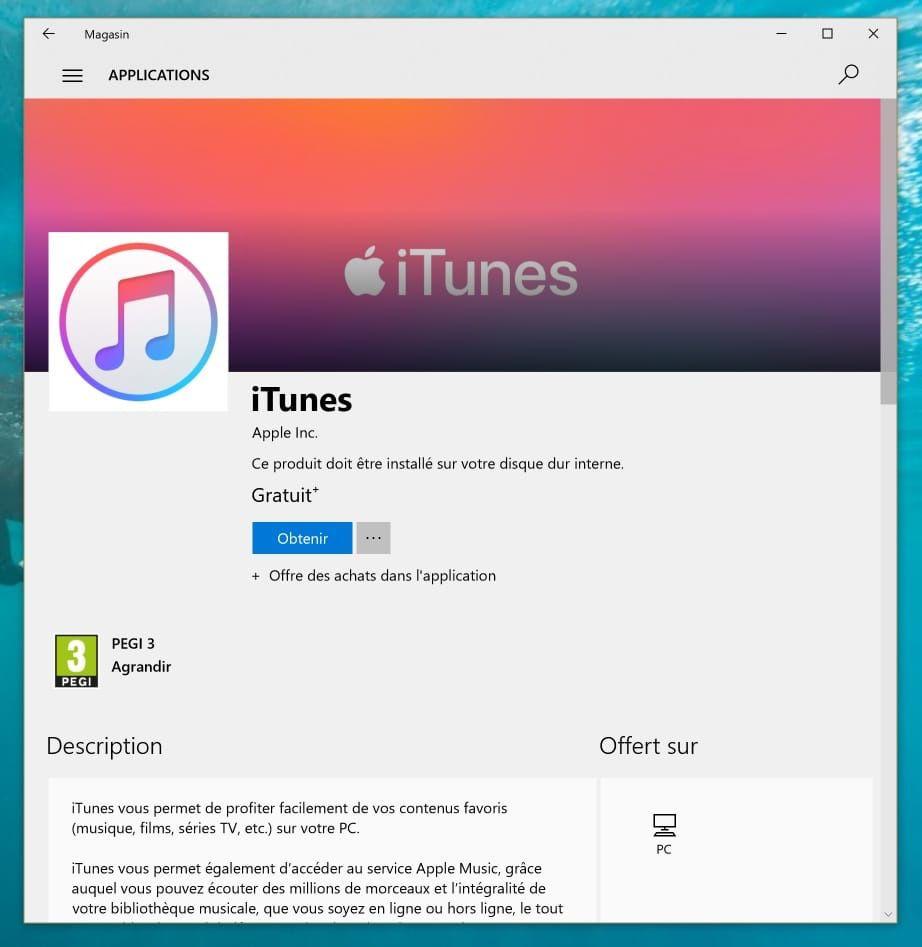 Après macOS, Apple pourrait exploser iTunes sur Windows