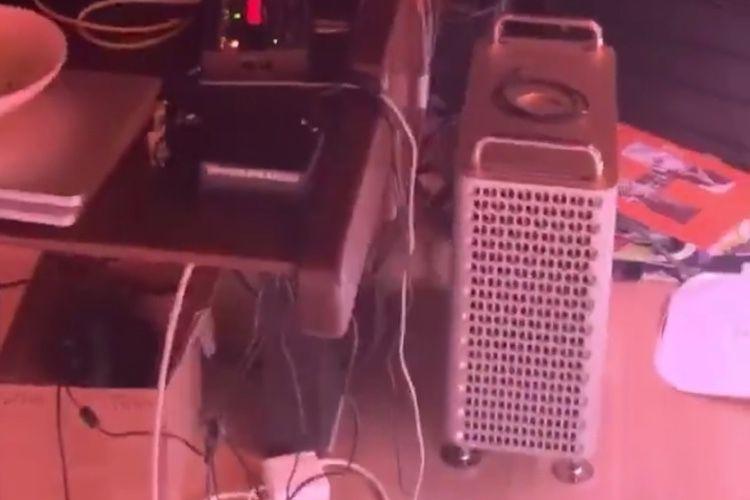 Le nouveau MacPro aperçu en studio