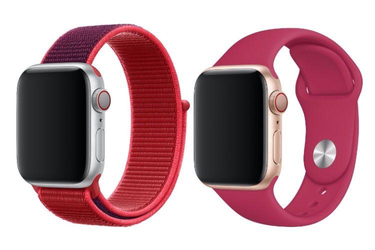Nouveaux bracelets pour l'AppleWatch 🎉, avec un Boucle Sport RED