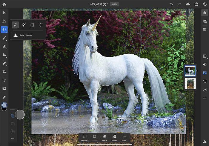 Photoshop iPad : Adobe dresse la feuille de route des fonctions à