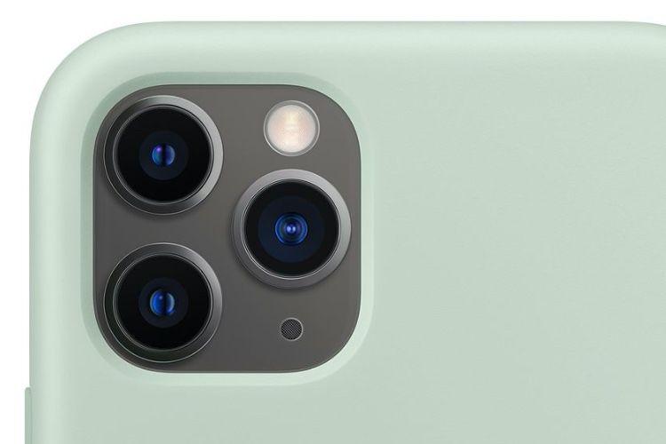 iPhone 11 Pro : nouveau coloris pour la coque en silicone Apple