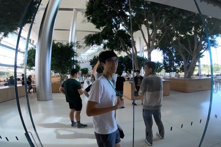 Visite en vidéo à l'intérieur de l'ApplePark
