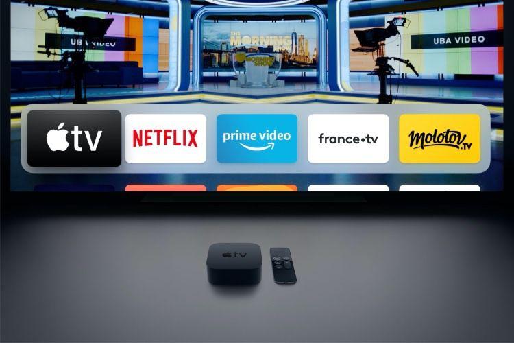 Regarder la télé, oui… Mais sur l'AppleTV!