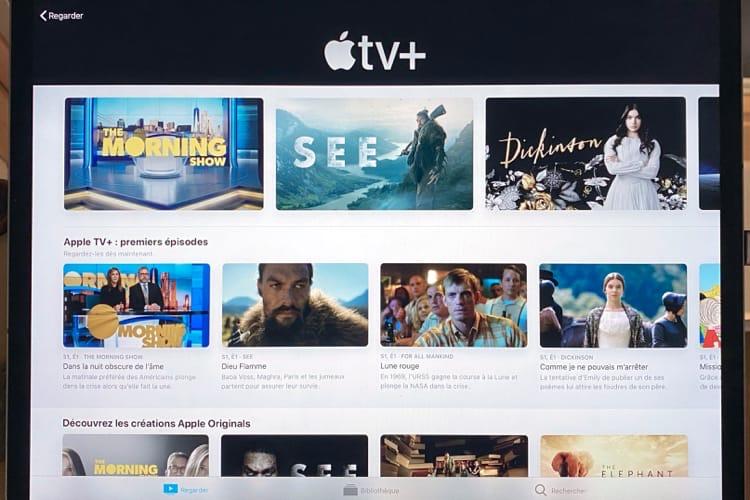 AppleTV+ offre la meilleure qualité vidéo en streaming