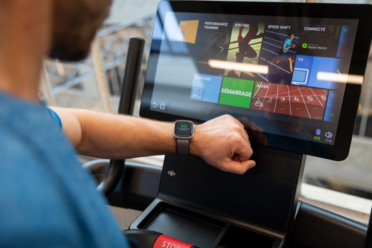 L'Apple Watch court sans attendre GymKit