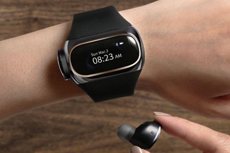 Wearbuds, le bracelet connecté qui cache des écouteurs