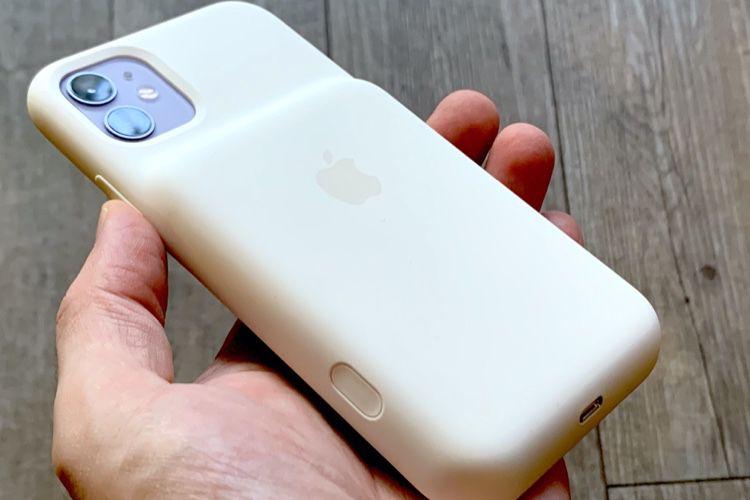 Smart Battery Case : le bouton pour l'appareil photo est un casse-tête
