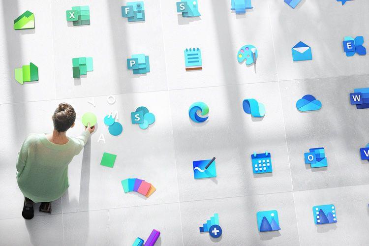 Windows 10 fait le plein de nouvelles icônes