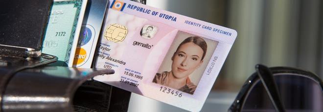 nouvelle carte d identité format La carte d'identité aura sa puce sans contact et un format CB en