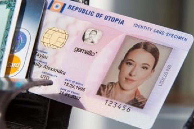nouvelle carte d identité française format cb La carte d'identité aura sa puce sans contact et un format CB en