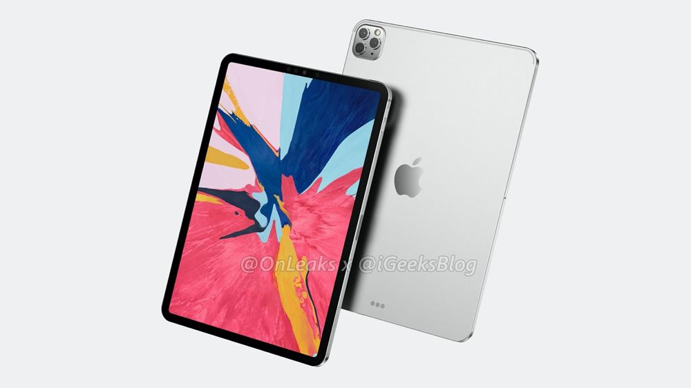 Le design de l'iPad Pro 2020 a fuité — Apple