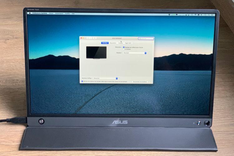 Asus ZenScreen MB16 : test de trois écrans USB-C pour MacBook et iPad