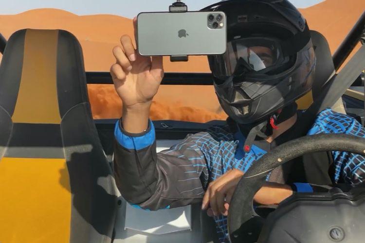 Vidéo: l'iPhone11Pro secoué dans le désert saoudien