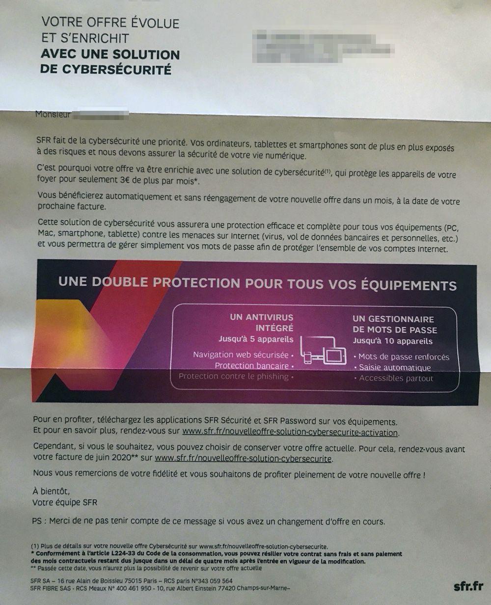 Attention De Nouvelles Augmentations Automatiques Chez Sfr