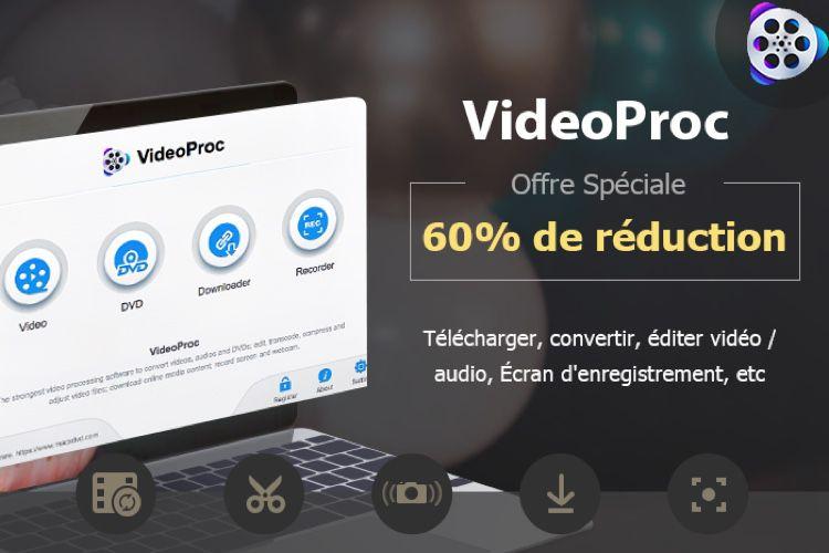 Offre exclusive : 60 % de réduction sur VideoProc, le logiciel de traitement vidéo 4K tout-en-un!  📣