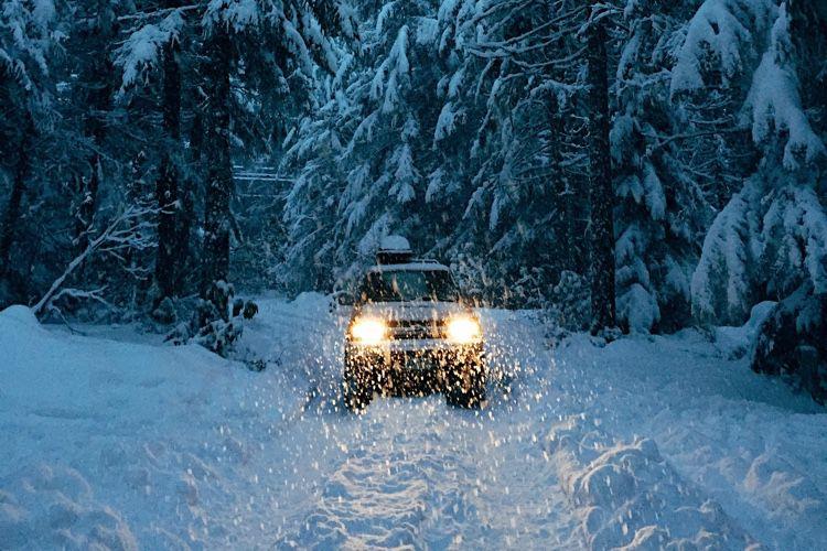 Waze signale et évite les routes enneigées