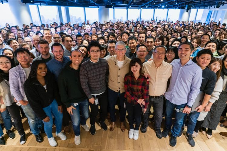 Tim Cook en tournée au Japon 🆕