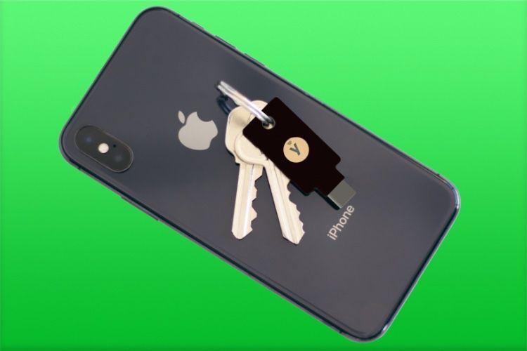 Sur iOS, Yubico Authenticator prend en charge les clés NFC