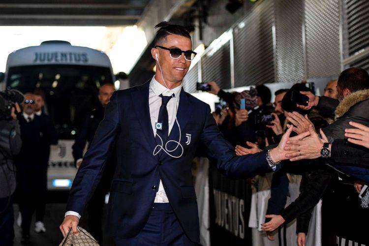 image en galerie : Cristiano Ronaldo toujours fan de l'iPod shuffle