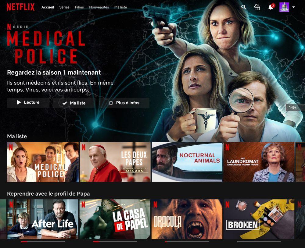 Netflix : 6,7 millions d'abonnés en France et 20 productions originales en préparation