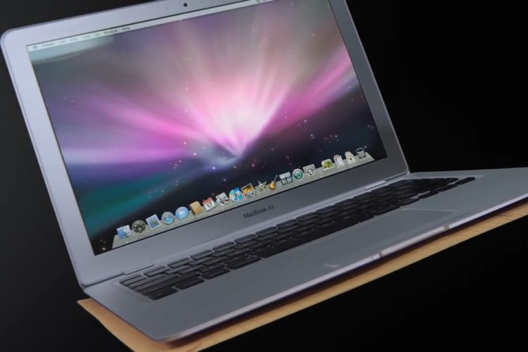 Le MacBookAir a 12 ans!