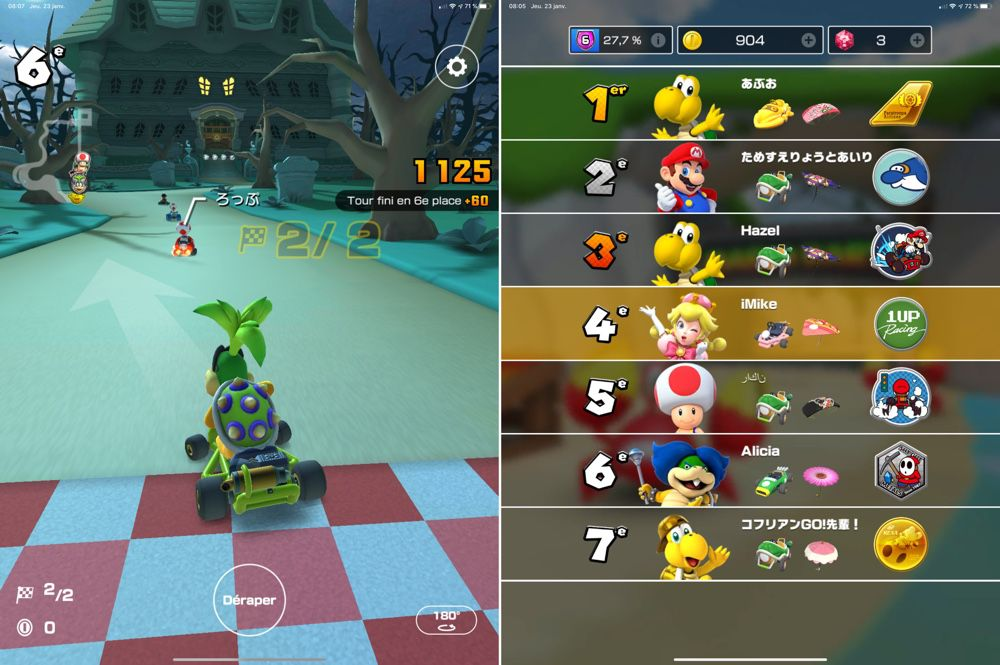 La bêta du mode multi est ouverte à tous — Mario Kart Tour