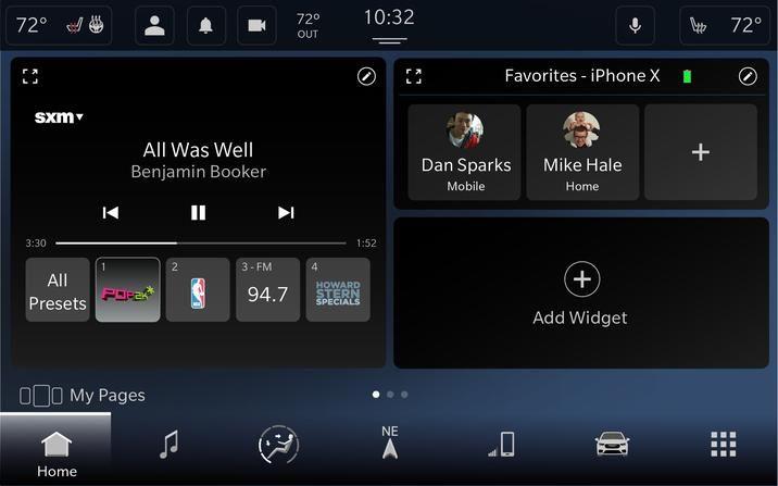 Avec Uconnect 5, Fiat Chrysler prend en charge CarPlay sans fil