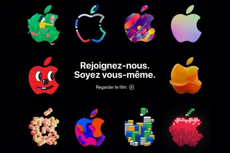 Emploi : Apple attire les candidats avec des pommes colorées