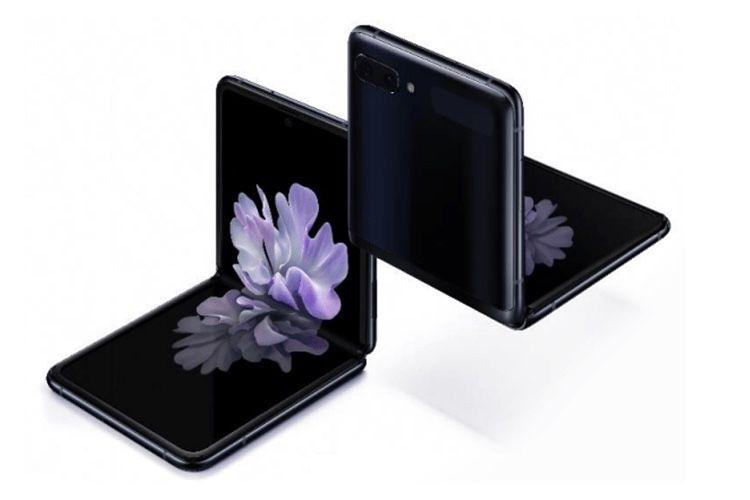 Galaxy Z Flip : nouvelles images pour le smartphone clapet à écran pliable de Samsung