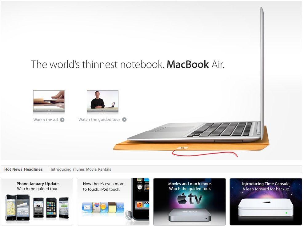Le MacBook Air a 12 ans !
