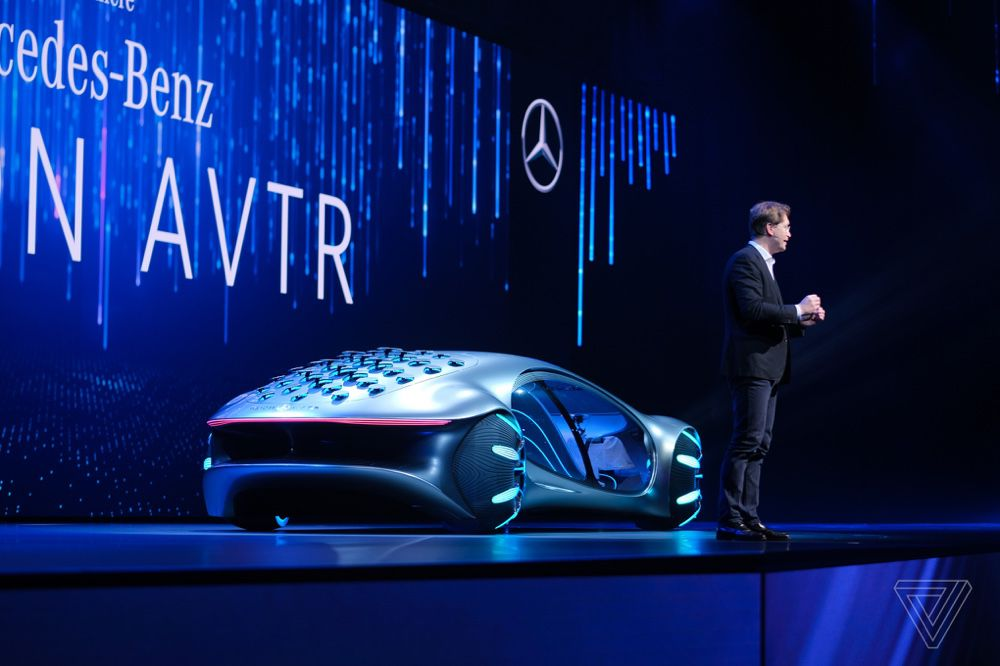 CES 2020 : Vision-S, les photos de la voiture électrique signée Sony
