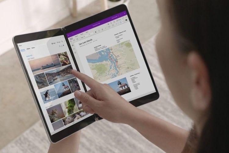 Microsoft détaille le fonctionnement des apps sur ses Surface à deux écrans 🆕