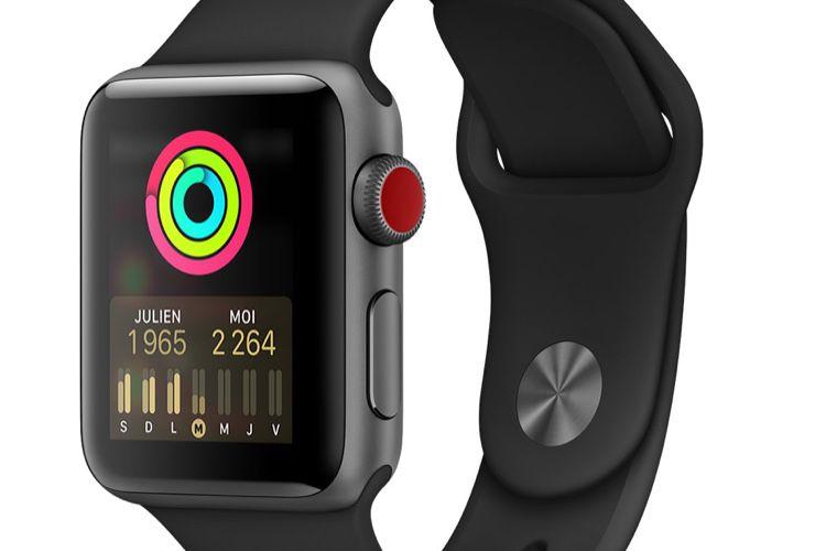 Soldes: l'AppleWatch Series 3 à 204€, la Series 2 à 149€