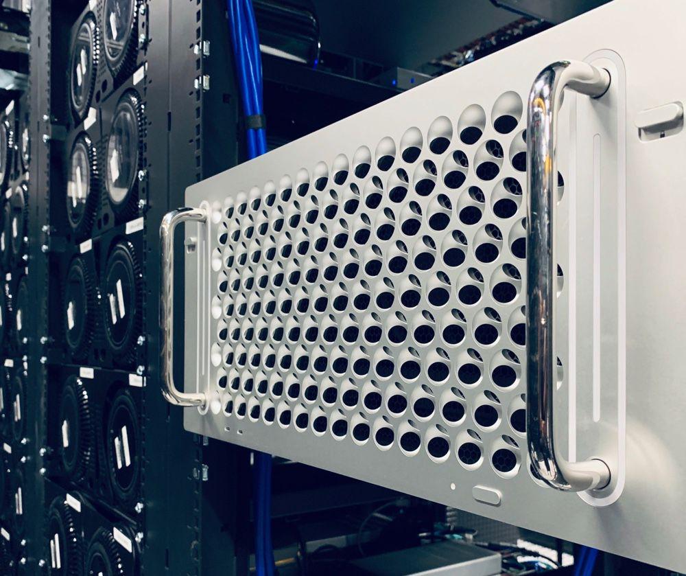 Le MacPro format rack se glisse chez MacStadium