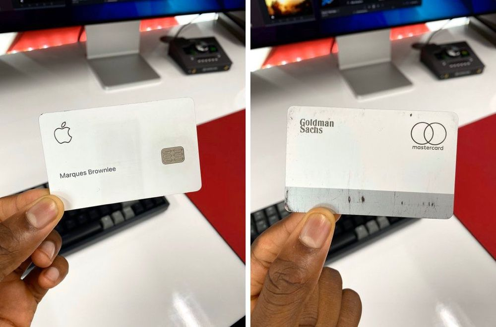 Apple Card : du titane en toc
