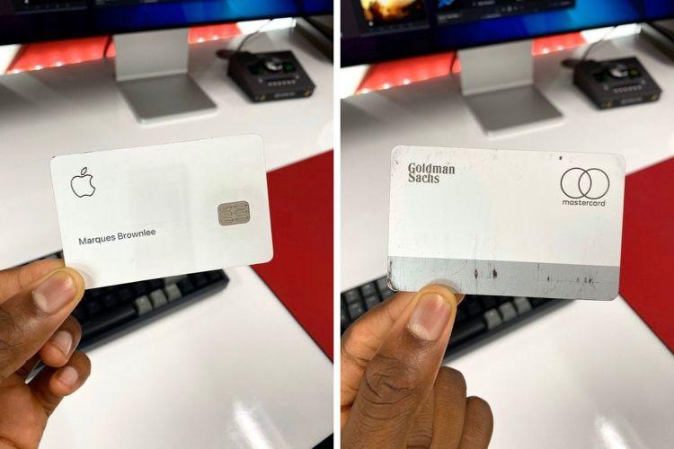 image en galerie : Apple Card : du titane en toc
